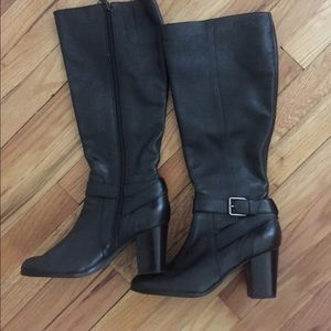 EUC Cole Haan Knee High Boots with Dust Bag. 9.5B